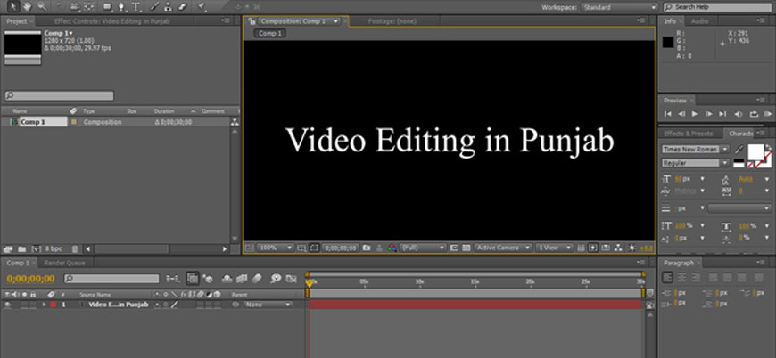 video editing in punjab