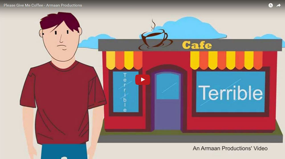 Explainer Video – Give Me Coffee, Dubai