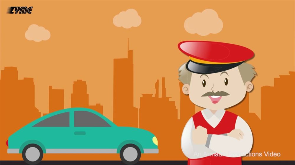 Animated Video for Car Mobile Application