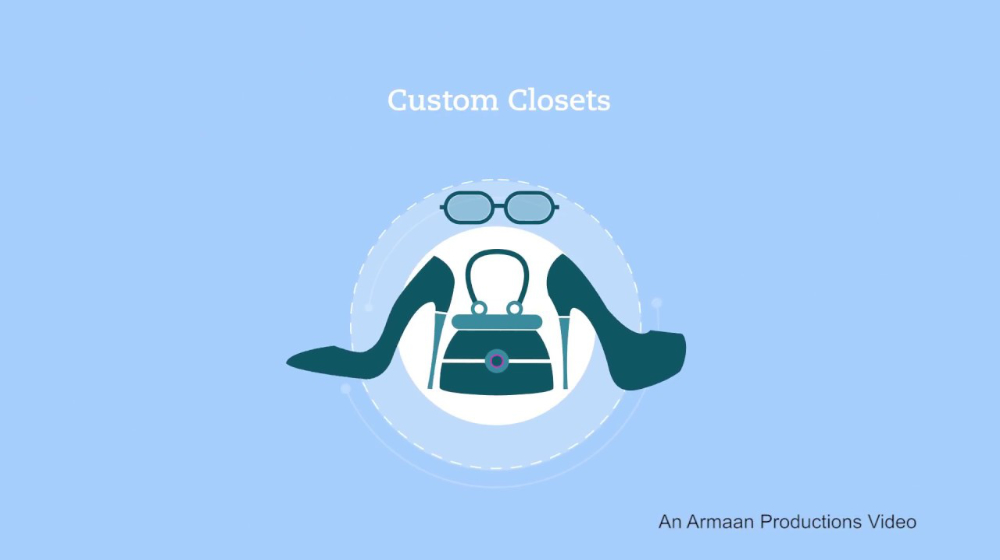 Animated Video for Closet Designs, New Jersey