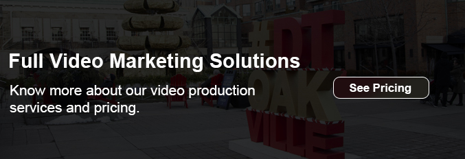 Armaan Productions Oakville - Pricing Banner